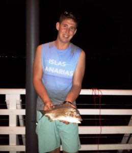 Mitch's Bream while Jetty Fishing